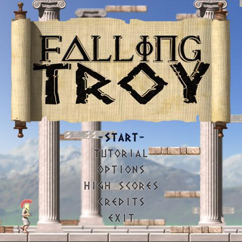Falling Troy